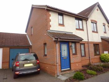 3 Bedrooms Semi Detached House for sale in Grace Edwards Close, Thorpe Marriott