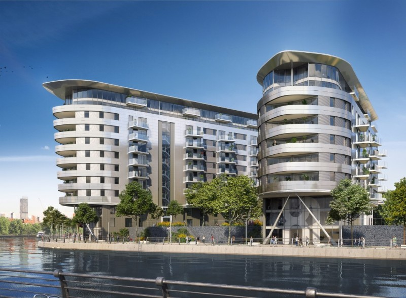 Studio Flat for sale in X1 Manchester Waters - Studio Apartment