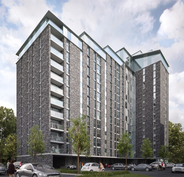 1 Bedroom Flat for sale in Trafford Plaza, Manchester