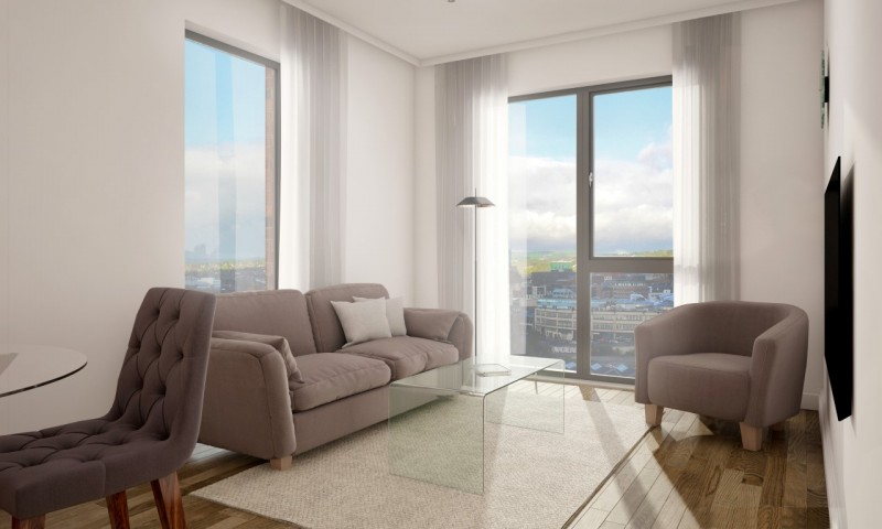2 Bedrooms Flat for sale in Great Central - Two Bedroom Apartment