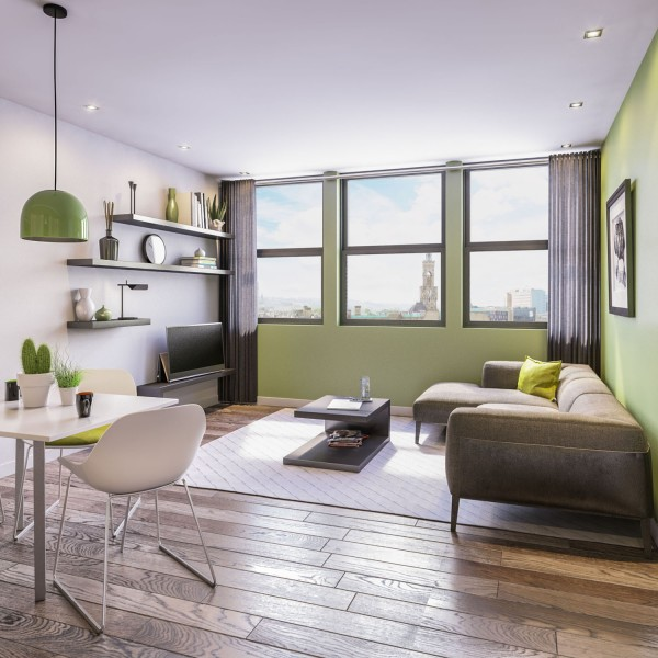 2 Bedrooms Flat for sale in The Residence at Park House - Two Bed