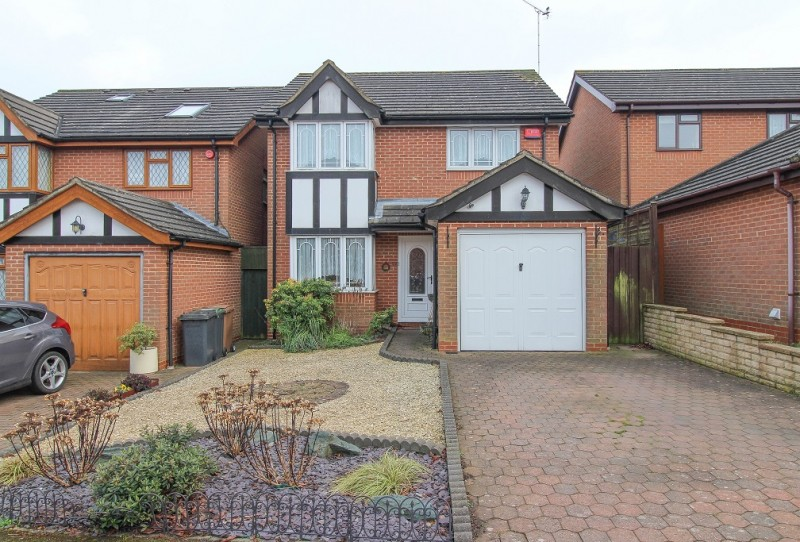 4 Bedrooms Detached House for sale in Tameton Close, Wigmore, Luton